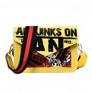Handbags - Graffiti Crossbody Bag